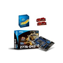 Kit de boost Intel Core i7 3770K + 8 Go DDR3