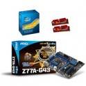 Kit de boost Intel Core i5 3570K  + 8 Go DDR3