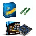 Kit de boost Intel Core i5 3470 + 4 Go DDR3