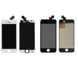 Vitre tactile + ecran LCD sur chassie complet iPhone 5 noir ou blanc