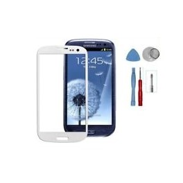 Vitre Samsung galaxy S3 I9300 blanc