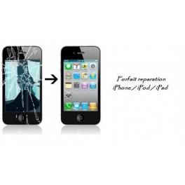 Réparation ecran vitre lcd iPhone 4 / 4s dans le 21 ou via la Poste
