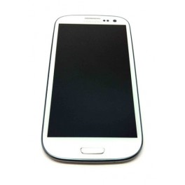 Vitre tactile Samsung Galaxy S3 i9305 4G couleur blanc