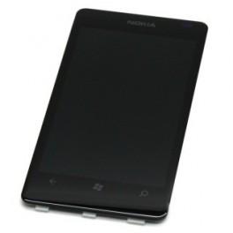 Réparation Vitre tactile + LCD complet nokia lumia 800