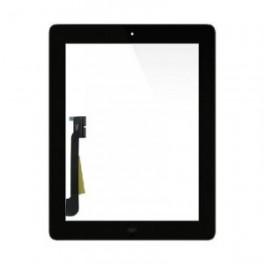 Vitre pour iPad 1 iPad 2 iPad 3 couleur noir