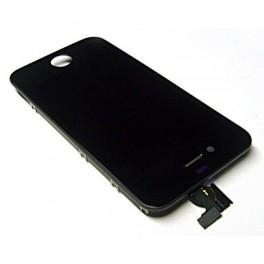 Vitre tactile + LCD iPhone 4s monté sur chassis (noir ou blanc)
