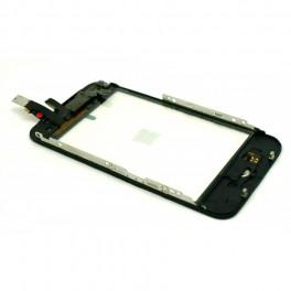 Vitre tactile iPhone 3gs noir de remplacement