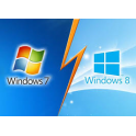 installation ou réinstallation Windows 10 7 8 Vista XP ( en - de 24h )