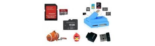 Cartes Mémoire et Clés USB